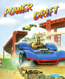 Power Drift box scan