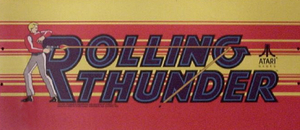 Rolling Thunder marquee.