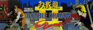 Double Dragon II marquee.