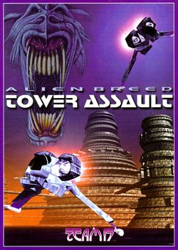 Alien Breed: Tower Assault (CD³²) box scan