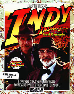Indiana Jones and the Last Crusade box scan