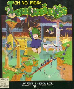 Oh No! More Lemmings box scan