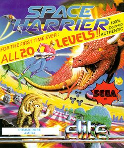 Space Harrier box scan