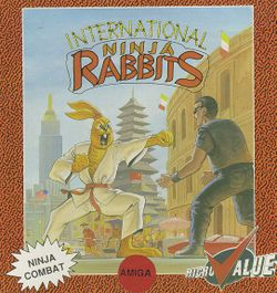 International Ninja Rabbits box scan