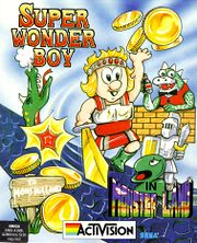 box art for the activision port of wonder boy in monster land