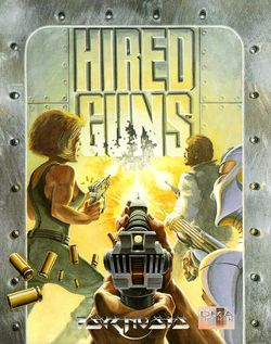 Hired Guns box scan
