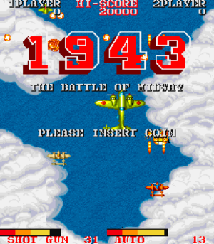 1943 title screen.