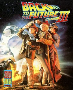 Back to the Future Part III box scan