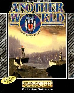 Another World box scan