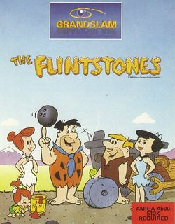 The Flintstones box scan