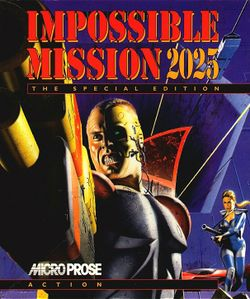 Impossible Mission 2025 box scan
