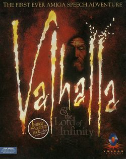 Valhalla & the Lord of Infinity box scan