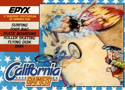 California Games box scan