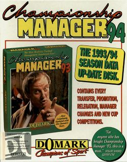 Championship Manager '94 box scan