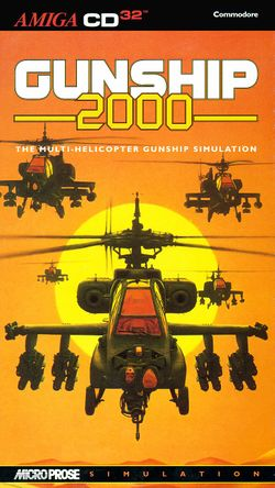 Gunship 2000 (CD³²) box scan
