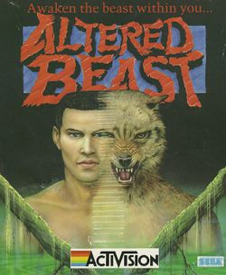 Altered Beast box scan
