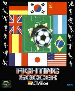 Fighting Soccer box scan