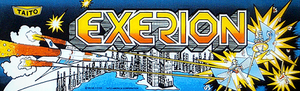 Exerion marquee.