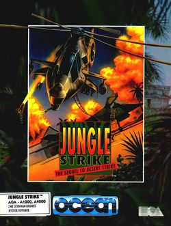 Jungle Strike box scan
