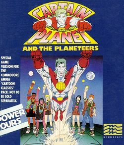 Captain Planet and the Planeteers box scan