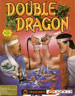 Double Dragon box scan