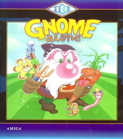 Gnome Alone box scan
