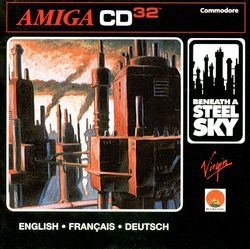 Beneath a Steel Sky (CD³²) box scan