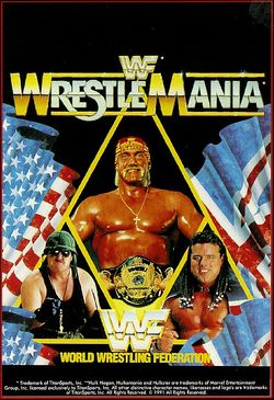 WWF Wrestlemania box scan