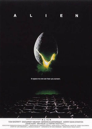 Alien theatrical poster.