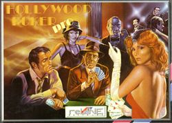 Hollywood Poker Pro box scan