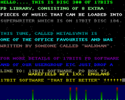 Superwriter Data Disk screenshot