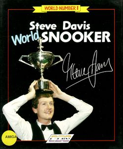 Steve Davis World Snooker box scan
