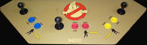 The Real Ghostbusters control panel.