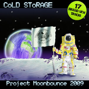Project Moonbounce 2009 album cover.