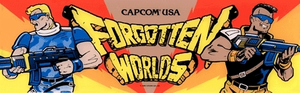 Forgotten Worlds marquee.