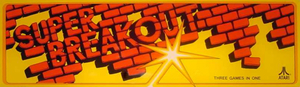 Super Breakout marquee.