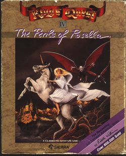 King's Quest IV box scan