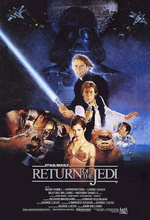 Star Wars: Episode VI - Return of the Jedi movie poster.