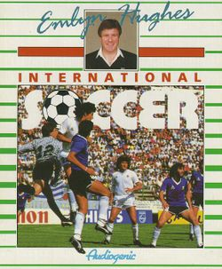 Emlyn Hughes International Soccer box scan