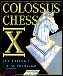 Colossus Chess X box scan