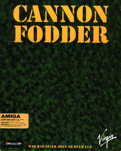 Cannon Fodder box scan