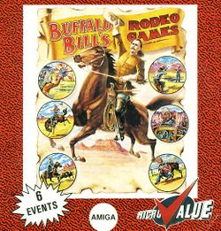 Buffalo Bill's Rodeo Games box scan