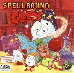 Spellbound Dizzy box scan