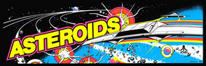 Asteroids marquee.