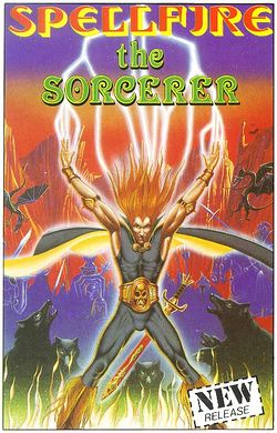 Spellfire the Sorcerer box scan