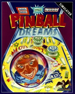 Pinball Dreams box scan