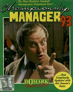 Championship Manager '93 box scan