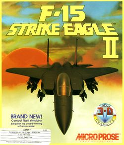 F-15 Strike Eagle II box scan